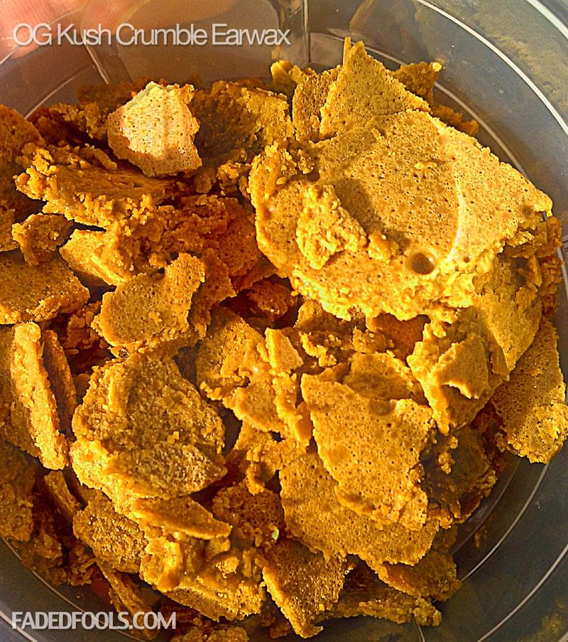 OG Kush Honeycomb Earwax 2012