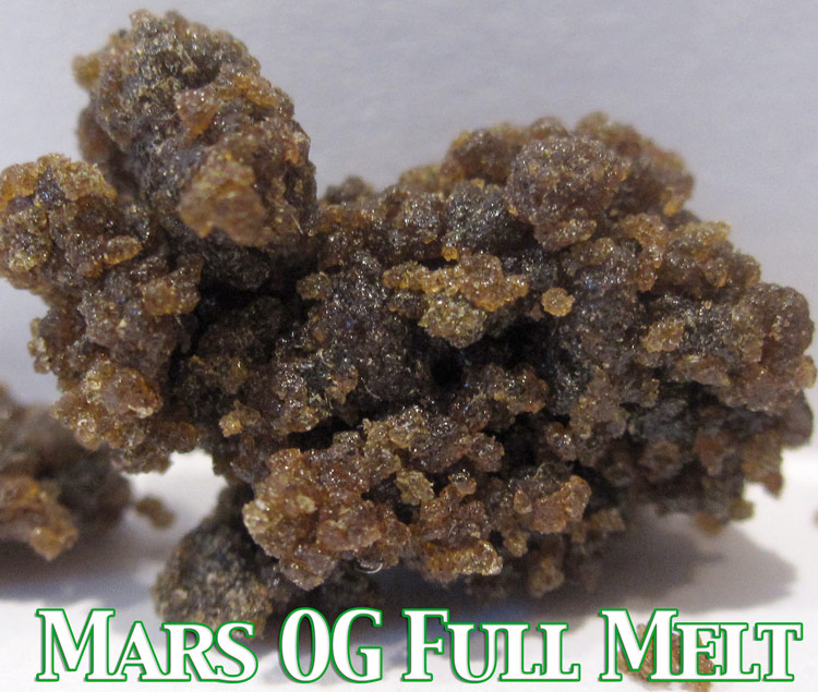 Mars OG Kush Full Melt Bubble Hash